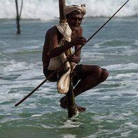 כפרי הדייגים של סרי לנקה